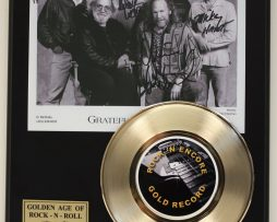 GRATEFUL-DEAD-GOLD-45-RECORD-LTD-EDITION-SIGNATURE-SERIES-SHIPS-US-FREE-171619825519