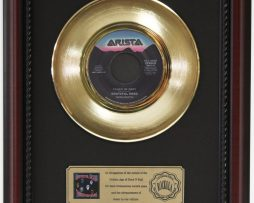 GRATEFUL-DEAD-TOUCH-OF-GREY-GOLD-RECORD-CUSTOM-FRAMED-CHERRYWOOD-DISPLAY-K1-182089334129