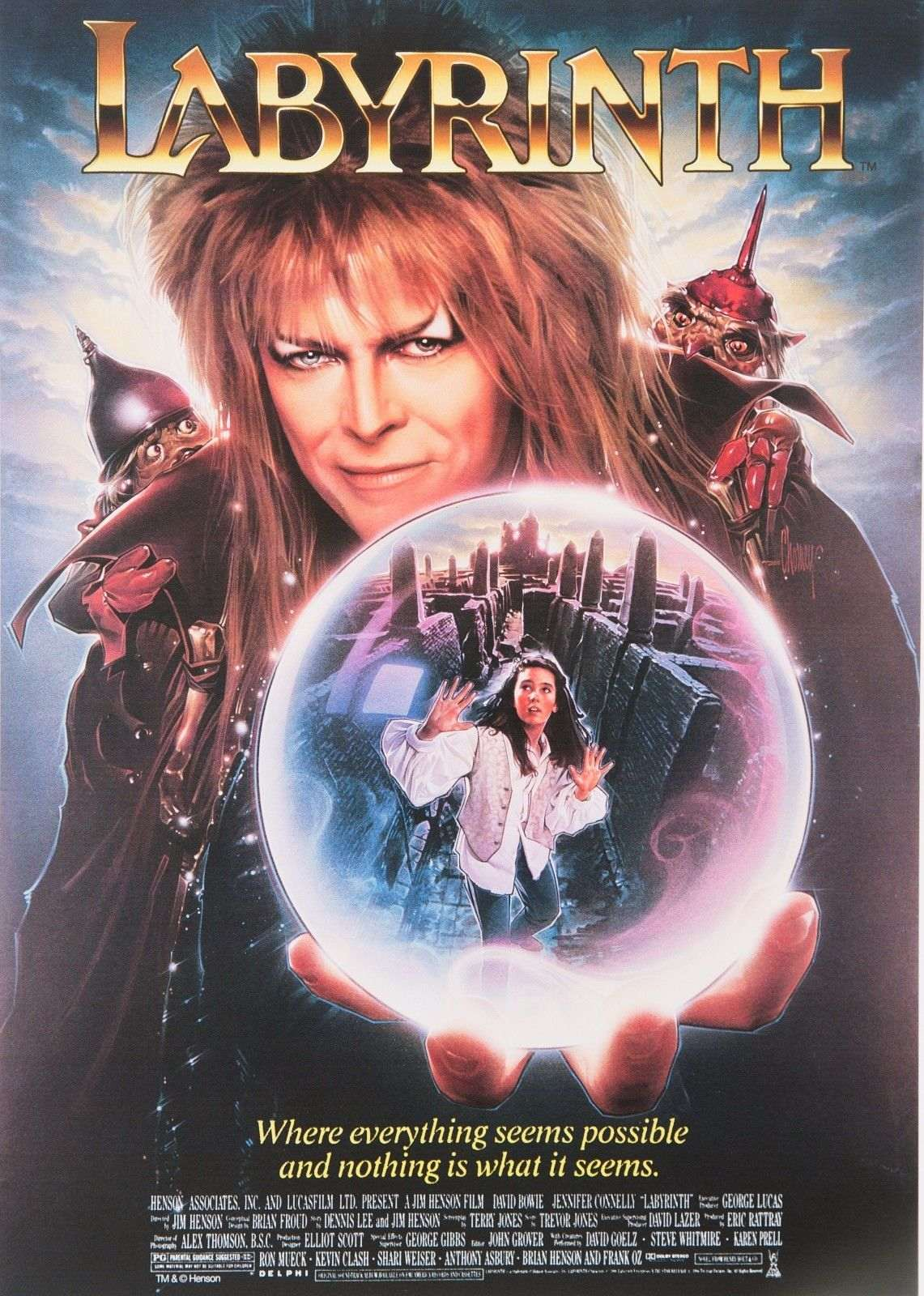 Labyrinth With David Bowie Limited Edition Movie Reel