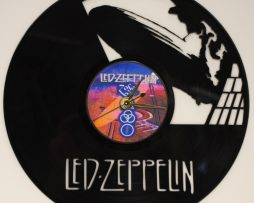LED-ZEPPELIN-LASER-CUT-VINYL-LP-RECORD-WALL-CLOCK-FREE-SHIPPIN-181902184479
