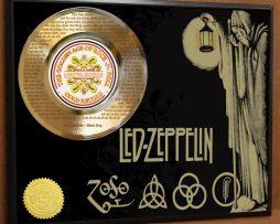 LED-ZEPPELIN-LTD-LASER-ETCHED-WITH-LYRICS-TO-BLACK-DOG-POSTER-ART-GOLD-RECORD-181466479959