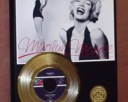 MARILYN-MONROE-GOLD-45-RECORD-LTD-EDITION-DISPLAY-FREE-SHIPPING-171141445069
