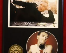 MORRISSEY-LIMITED-EDITION-PICTURE-CD-DISC-COLLECTIBLE-RARE-GIFT-WALL-ART-180913233929