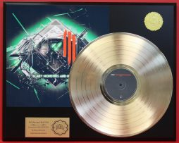 SKRILLEX-24KT-GOLD-LP-LTD-EDITION-RARE-RECORD-DISPLAY-AWARD-QUALITY-SHIPS-FREE-181083926989