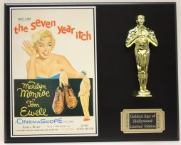 THE-SEVEN-YEAR-ITCH-MARILY-MONROE-OSCAR-MOVIE-DISPLAY-FREE-US-SHIPPING-181203184179