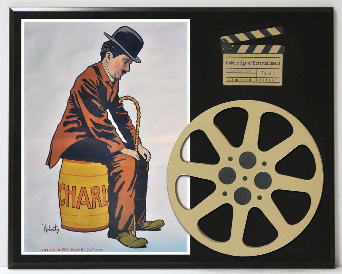 THE TRAMP CHARLIE CHAPLIN MOVIE POSTER LIMITED EDITION ...