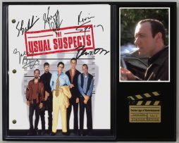 THE-USUAL-SUSPECTS-LTD-EDITION-REPRODUCTION-MOVIE-SCRIPT-CINEMA-DISPLAY-C3-182128686829