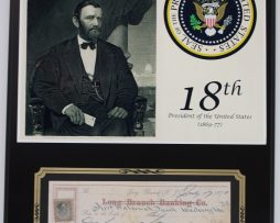 ULYSSES-S-GRANT-PRESIDENT-REPRODUCTION-SIGNED-LIMITED-EDITION-CHECK-DISPLAY-172232764489