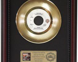 VAN-HALEN-1984-GOLD-RECORD-FRAMED-CHERRYWOOD-DISPLAY-K1-172204424149