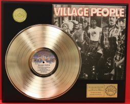 VILLAGE-PEOPLE-LTD-EDITION-GOLD-RECORD-LP-DISPLAY-COLLECTIBLE-FREE-SHIPPING-171140089709