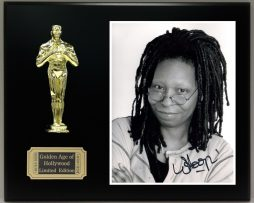WHOOPI-GOLDBERG-Reproduction-Signed-8-x-10-Photo-LTD-Edition-Oscar-Display-181830519079