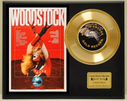 WOODSTOCK-LTD-EDITION-CONCERT-POSTER-SERIES-GOLD-45-DISPLAY-171347935399