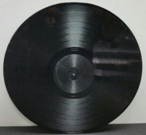 """Erika Records Black Vinyl LP 12"""""""