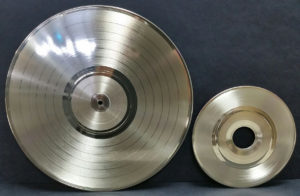Erika Records Gold LP and 45