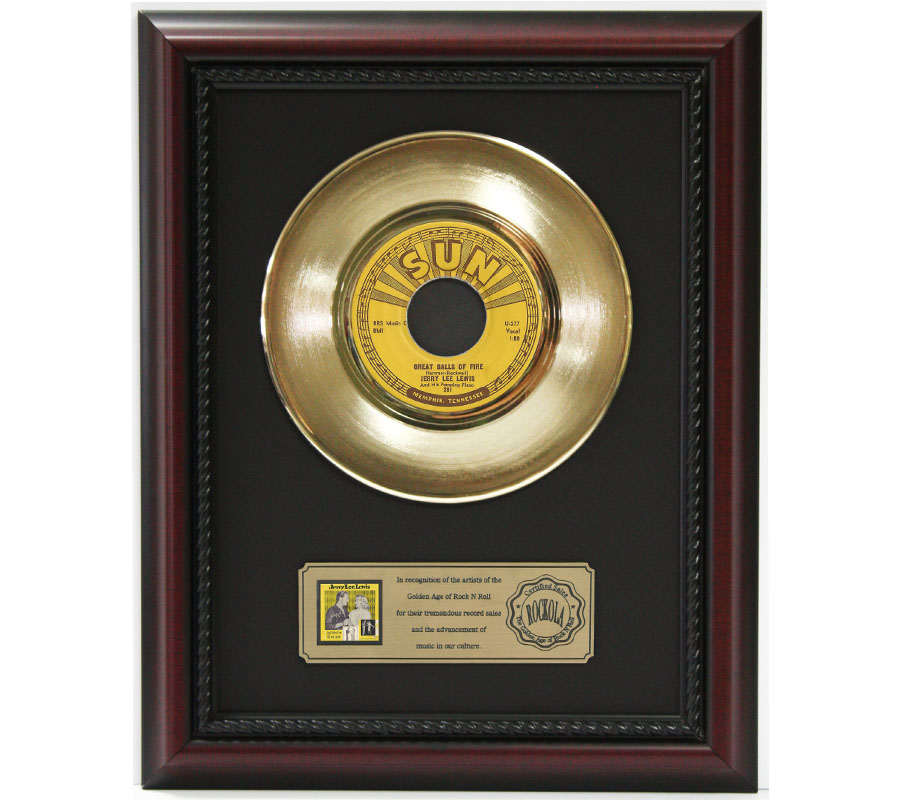 Gold Record Outlet 45 Framed Displays