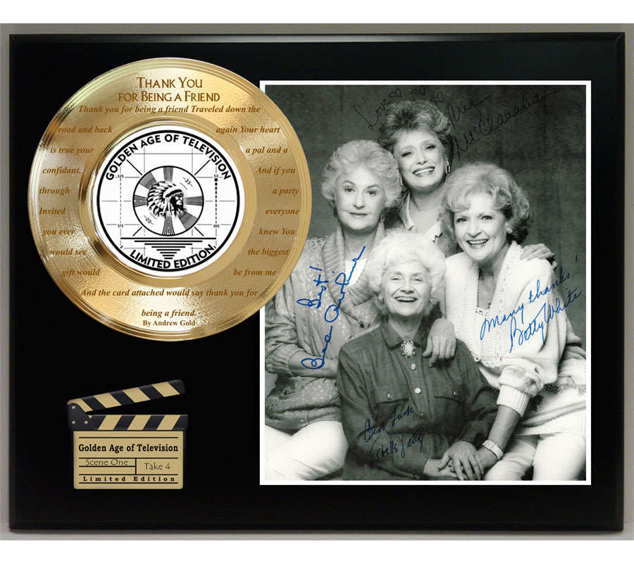 Gold Record Outlet Movie and TV Show Displays