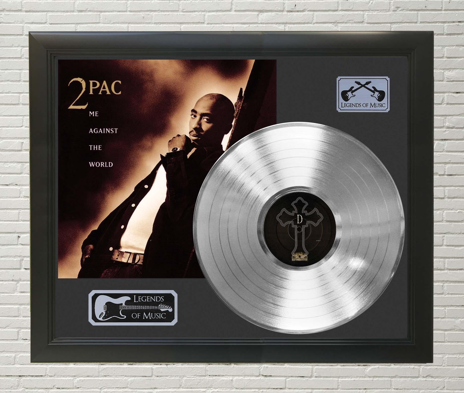 Me Against The World Framed Platinum LP Record