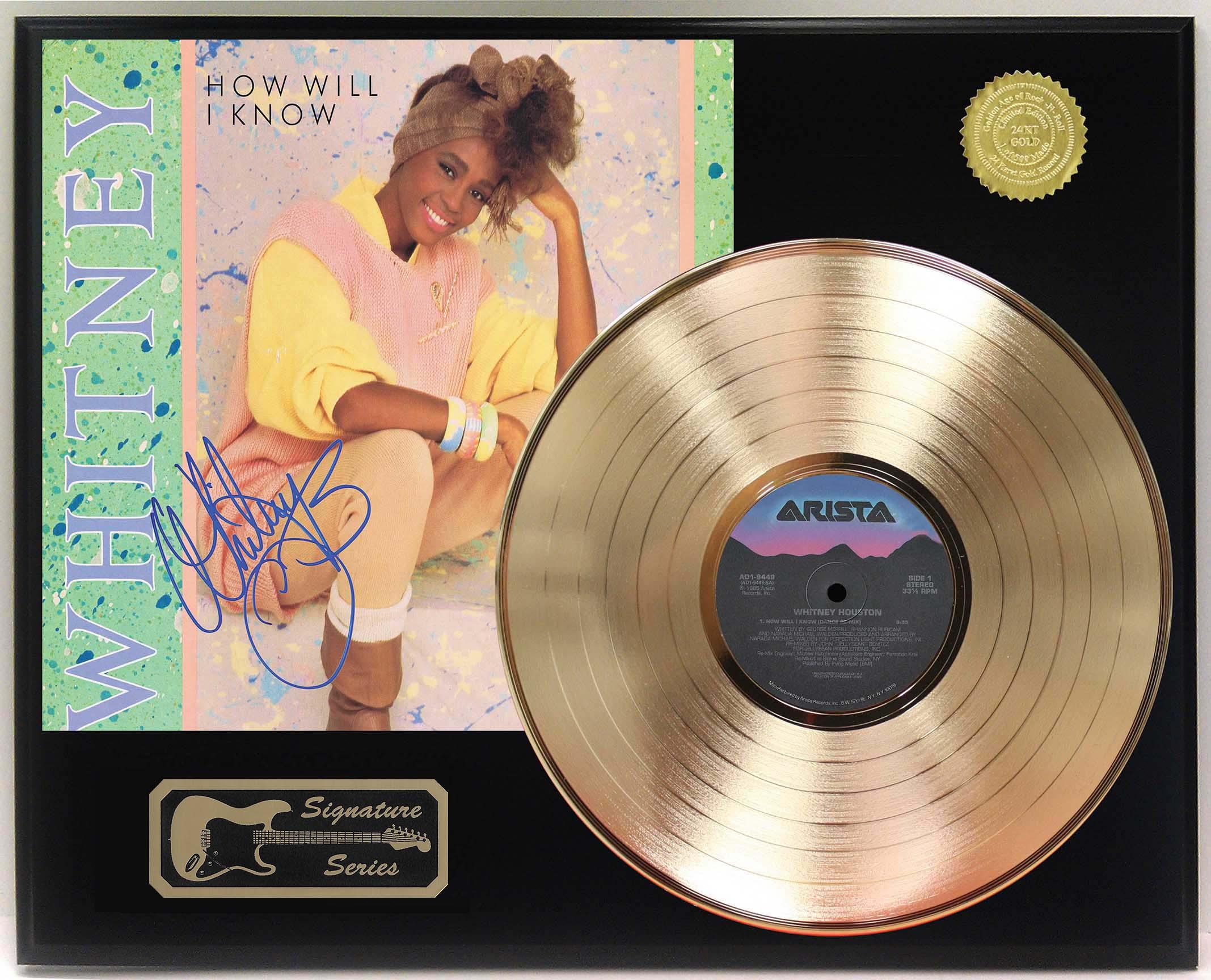 Whitney Whitney Houston Limited Edit CD Platinum LP Disc