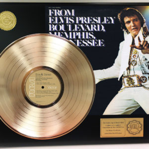 ELVIS PRESLEY GOLD RECORDS