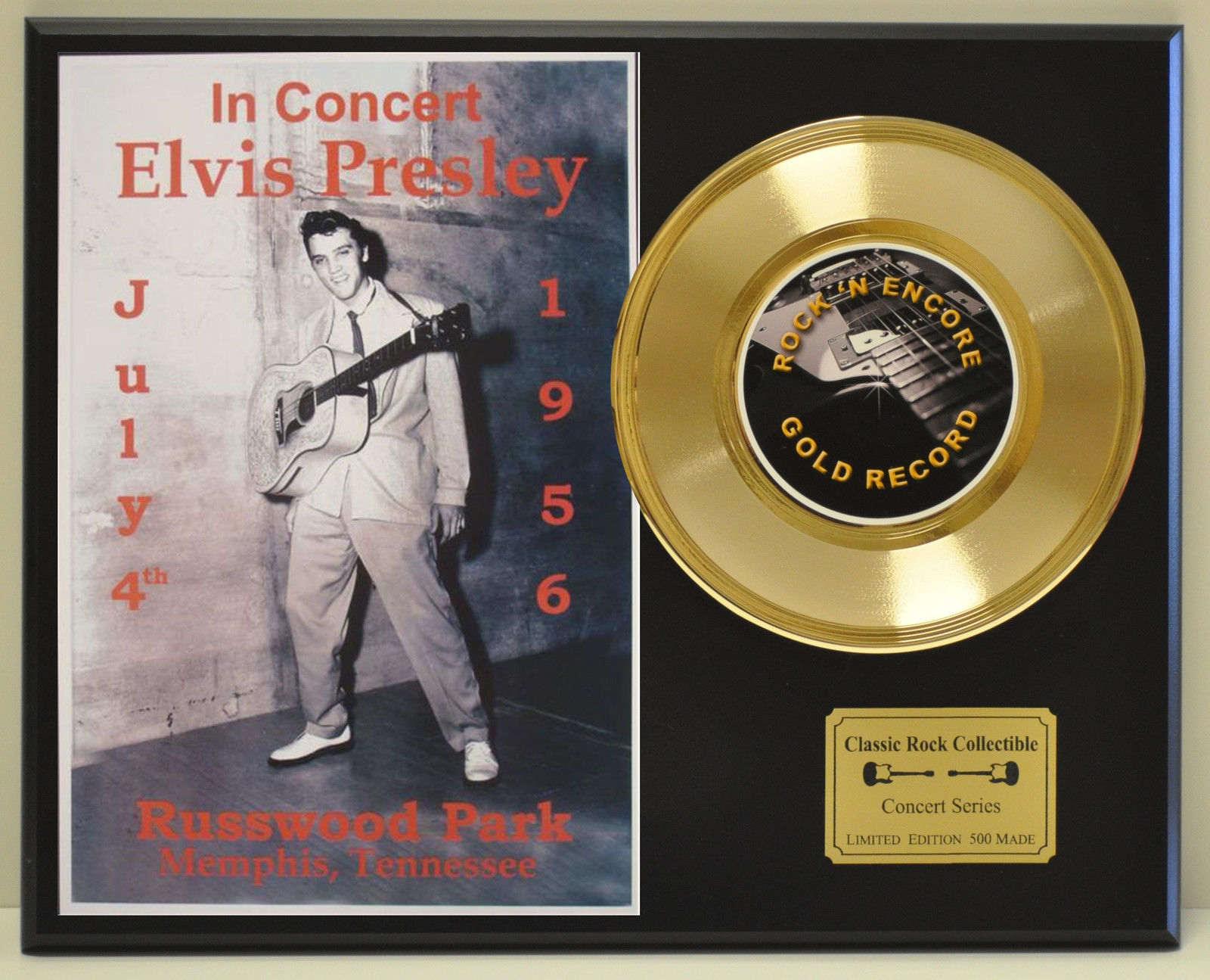 elvis presley vintage ltd edition concert poster series
