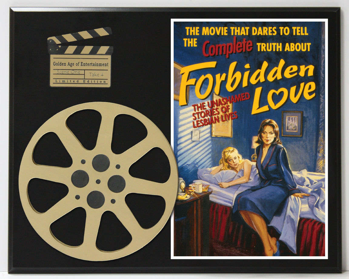 FORBIDDEN LOVE UNASHAMED LESBIAN LIVES LIMITED EDITION MOVIE REEL DISPLAY    Gold Record Awards Album and Disc Collectible Memorabilia
