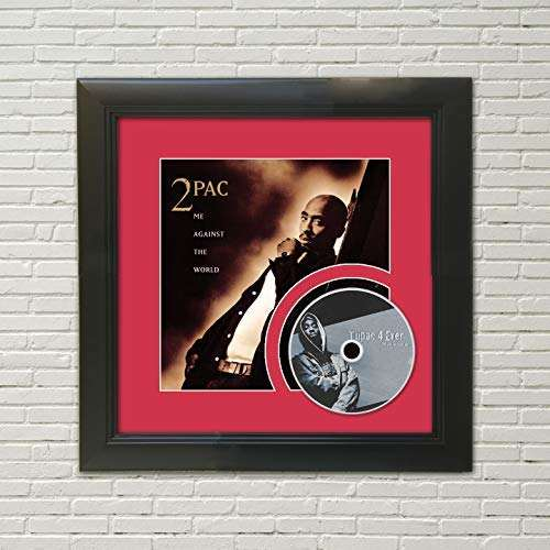 2Pac - Me Against The World Framed CD Display M4
