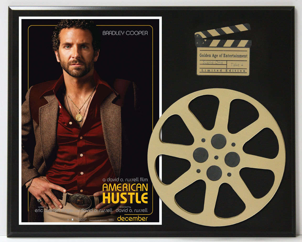 AMERICAN HUSTLE BRADLEY COOPER AMY ADAMS 3 LIMITED EDITION ...