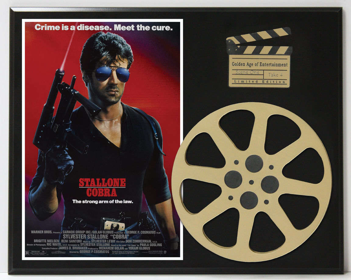 cobra sylvester stallone movie poster limited edition