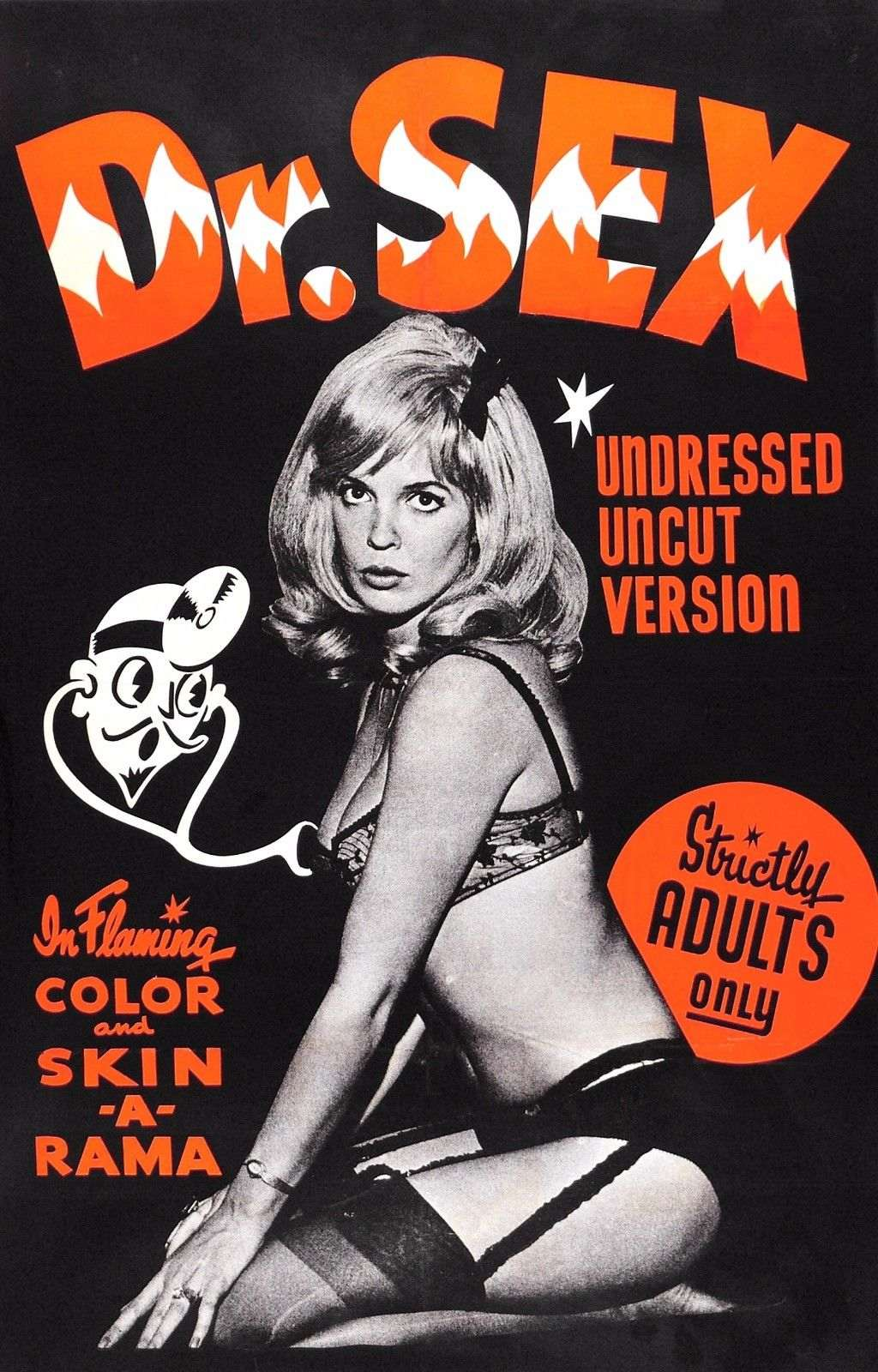 Dr Sex Skin - A - Rama 1960S Limited Edition Movie Reel -7819