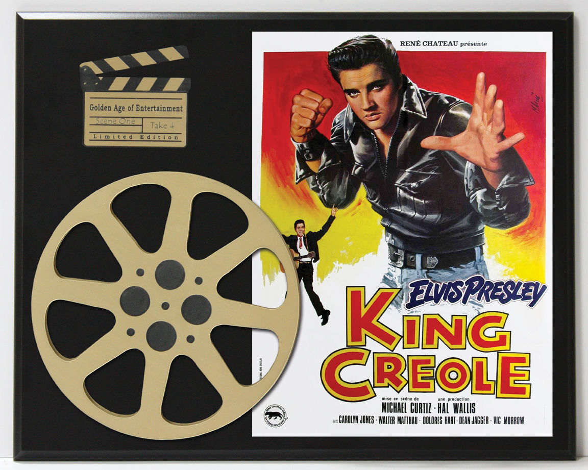 Elvis Presley King Creole Movie Poster Limited Edition