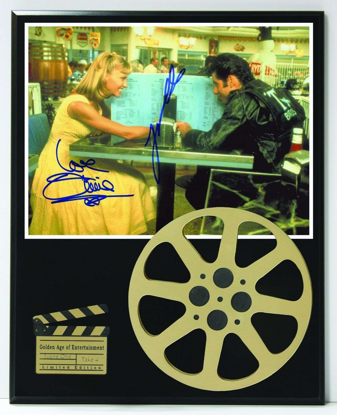 Greese Olivia Newton John Reproduction Signature And Film Reel Display Gold Record Outlet Album And Disc Collectible Memorabilia A flavourful melting pot of sparkling nightspots, fresh seafood, sizzling mediterranean passion and mythical legend, greece is a fascinating and enchanting. greese olivia newton john reproduction signature and film reel display