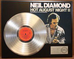 Gold Record Art Displays And Collectible Memorabilia