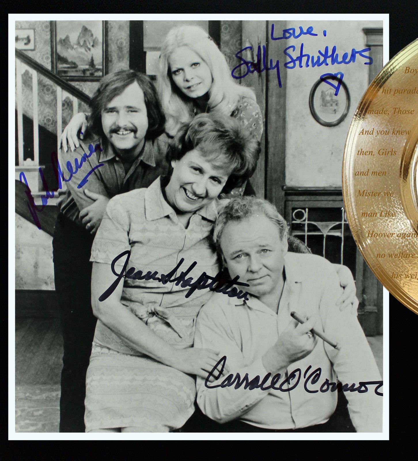 All In The Family #2 Limited Edition Signature and Theme Song Series Display