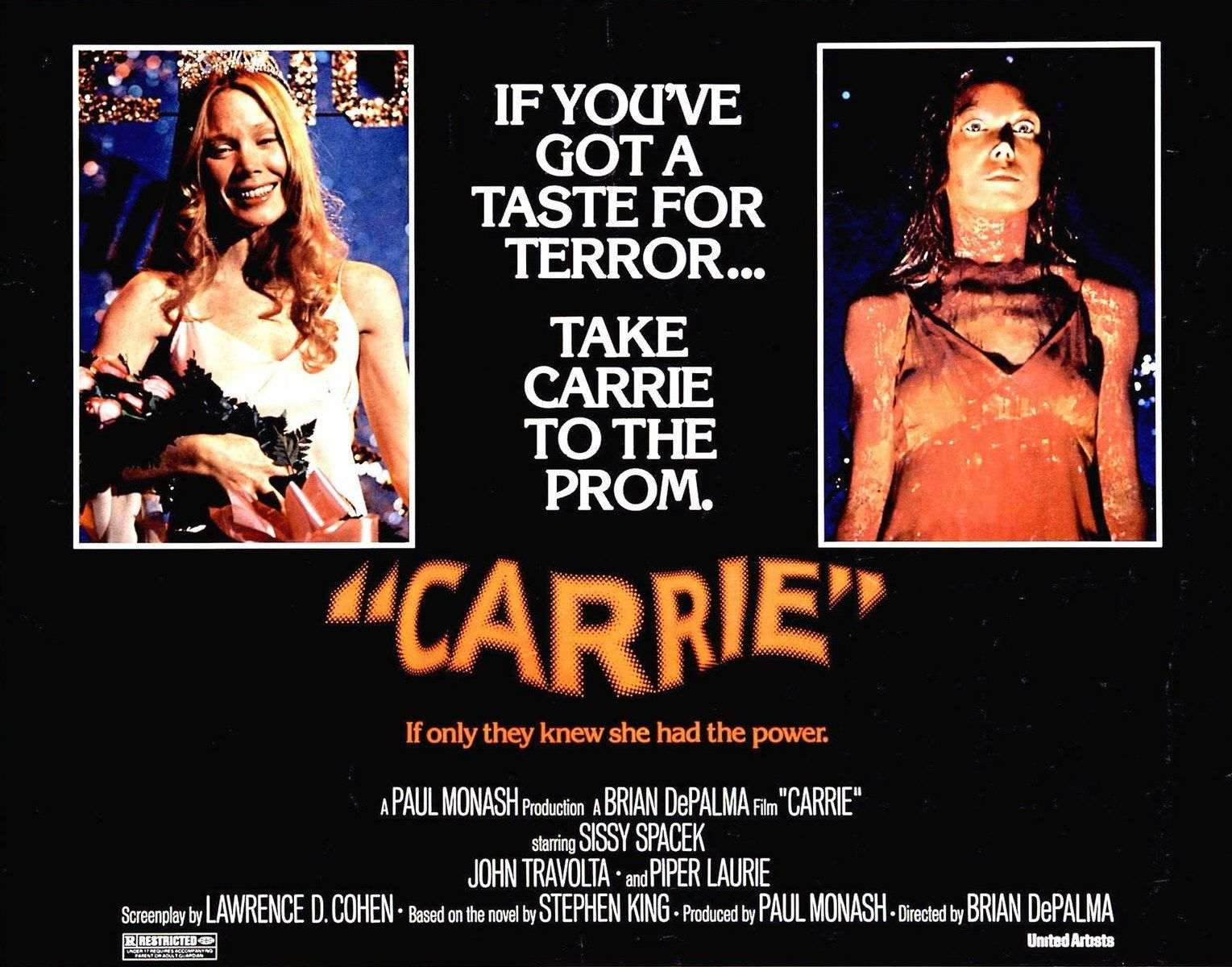 Image result for IMAGE, PHOTO, PICTURE, JOHN TRAVOLTA , CARRIE, SPACEK