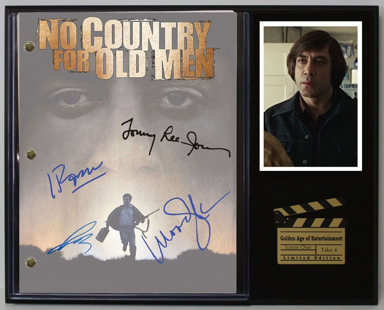 No Country For Old Men Ltd Reproduction Movie Script Cinema Display