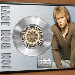 CONCERT POSTER GOLD RECORDS