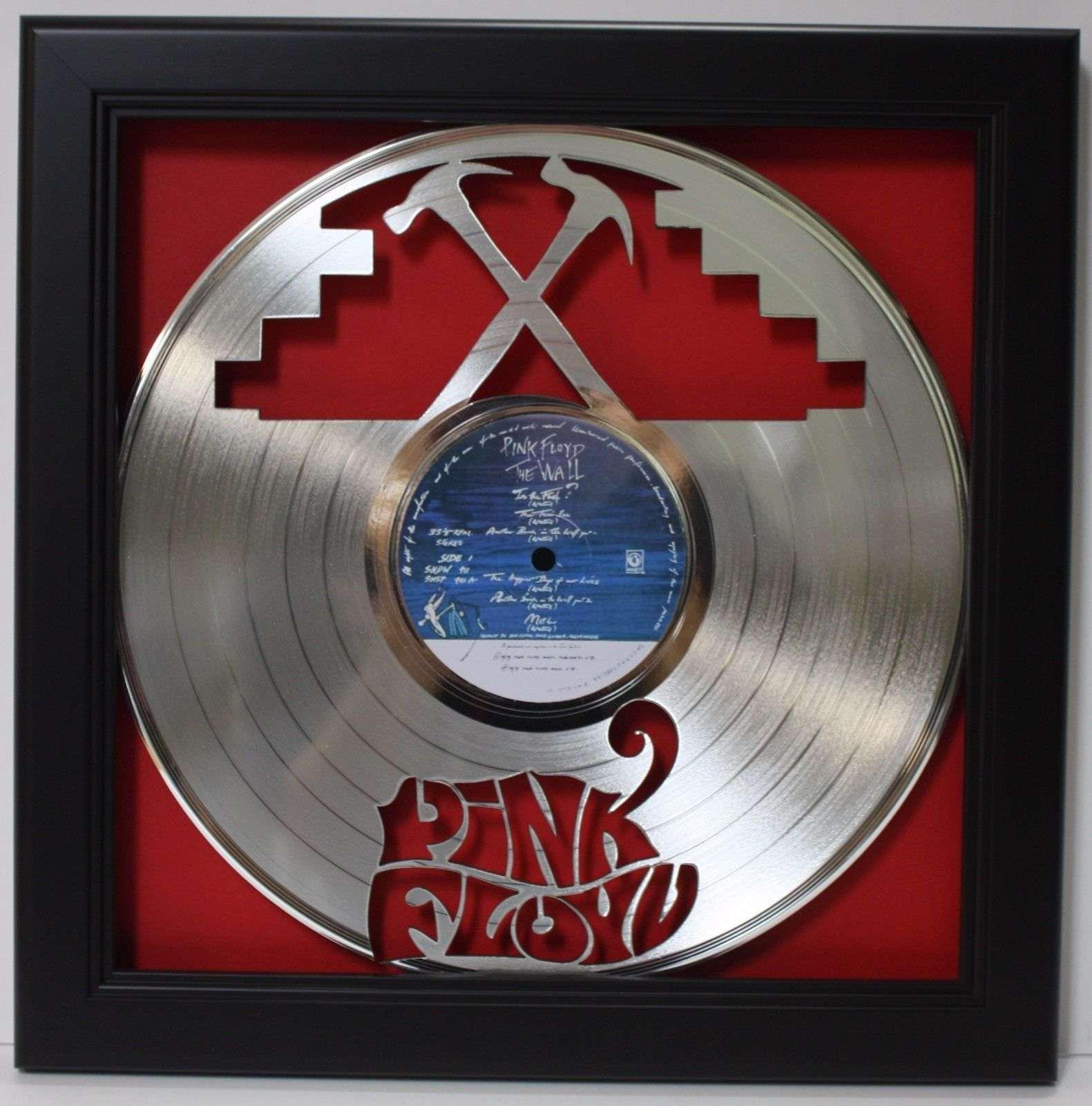 PINK FLOYD LTD Edition Poster Art Platinum Record Memorabilia Gift Free Shipping