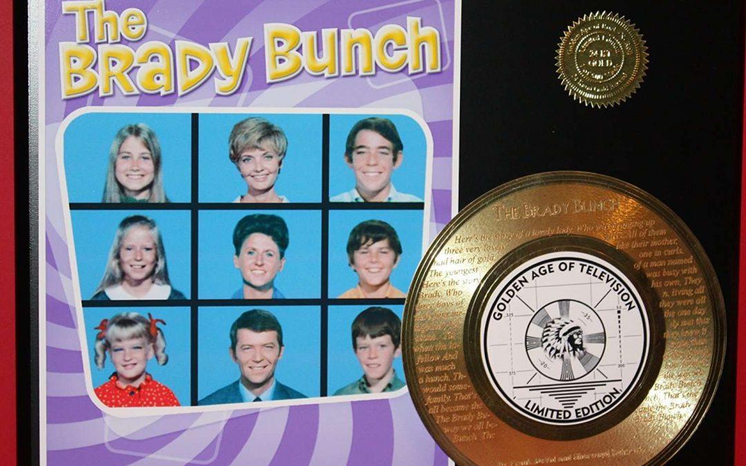 Brady Bunch 24Kt Gold Record Rare LTD Edition Laser Etched W/ Lyrics