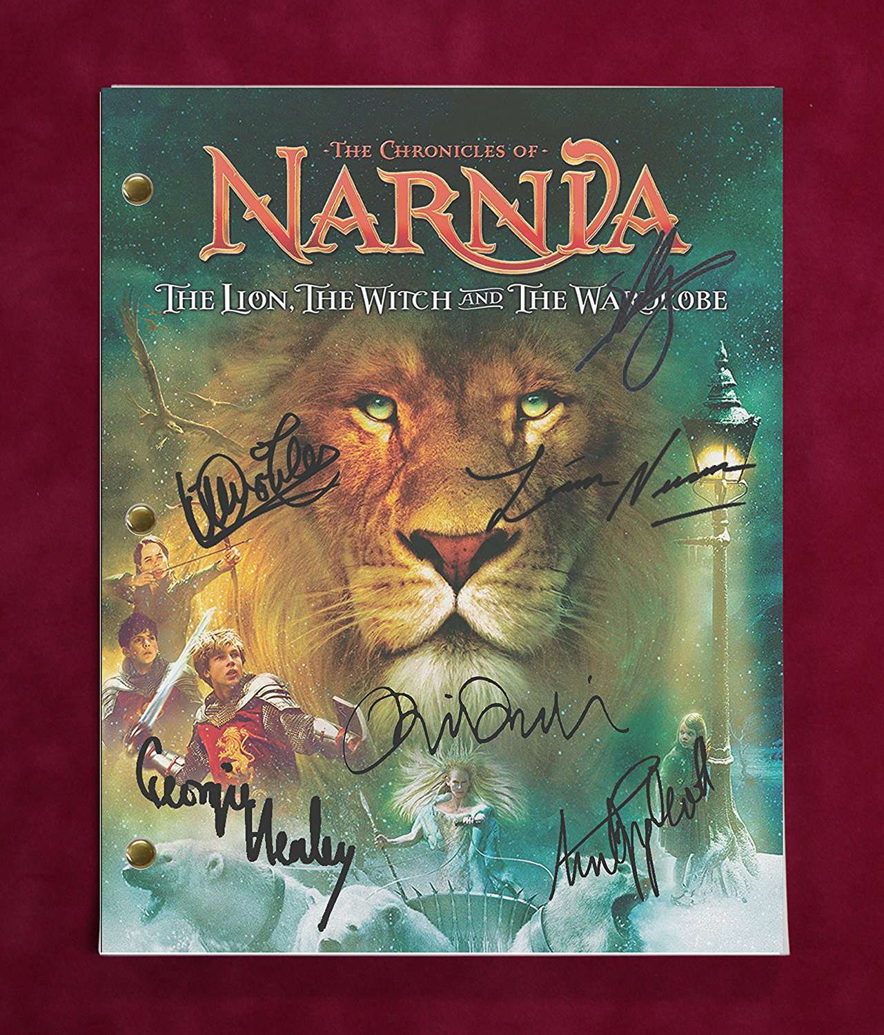 Original Lion Witch And The Wardrobe Movie: Chronicles Of Narnia The Lion The Witch And The Wardrobe