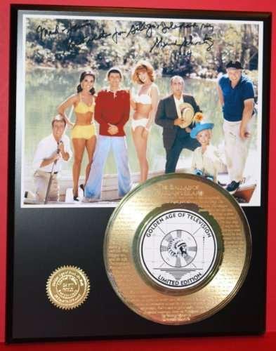 Gilligan's Island 24Kt Gold Record Rare LTD Edition Laser Etched W/ Lyrics