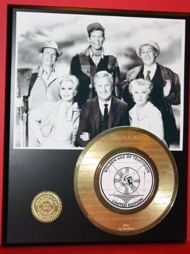 Green Acres 24Kt Gold Record Rare LTD Edition Laser Etched W/ Lyrics