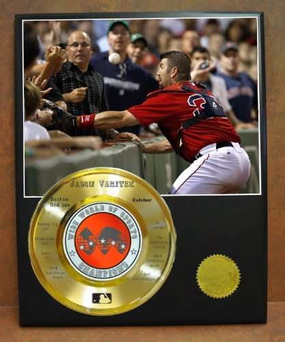 Jason Varitek Boston Red Sox MLB Champion Wide World Of Sports Stat Display