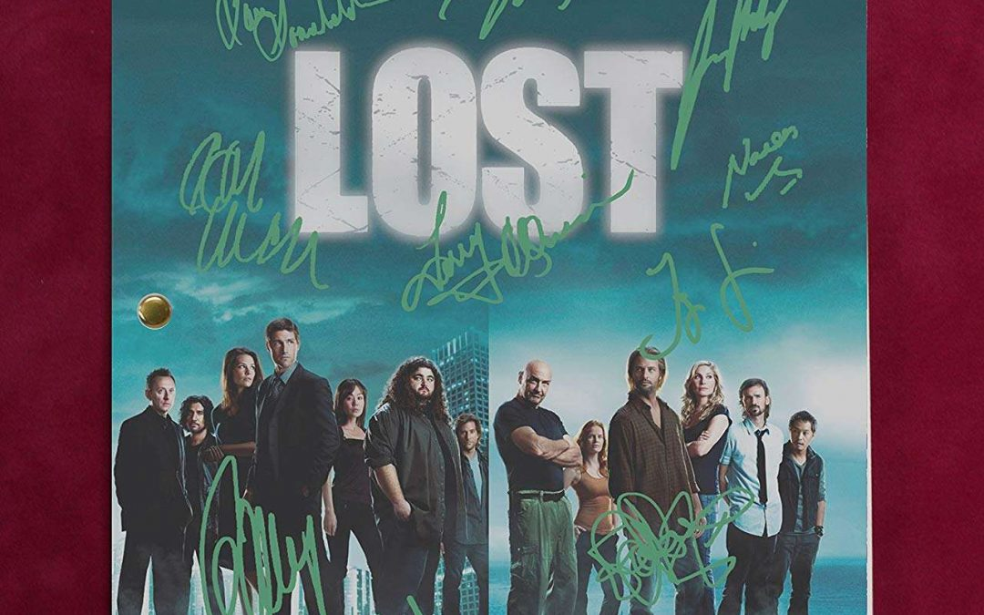 Lost TV Script Reproduction Signatures Lilly, Holloway, Fox C3
