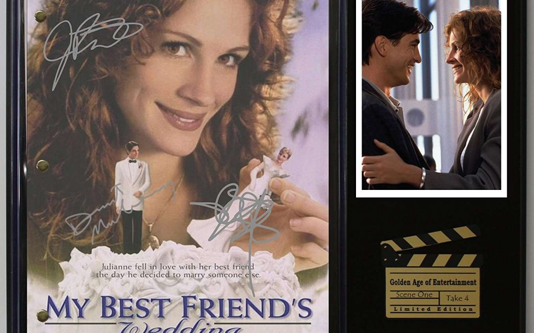 My Best Friends Wedding Ltd Edition Reproduction Movie Script Cinema Display C3