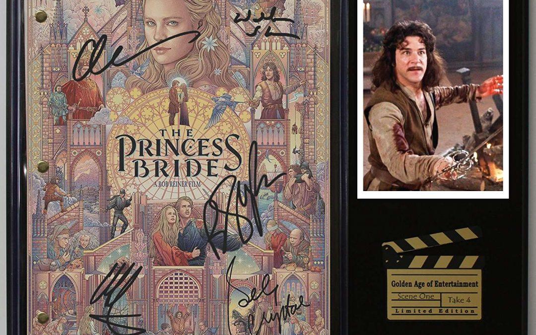 Princess Bride Ltd Edition Reproduction Movie Script Cinema Display C3