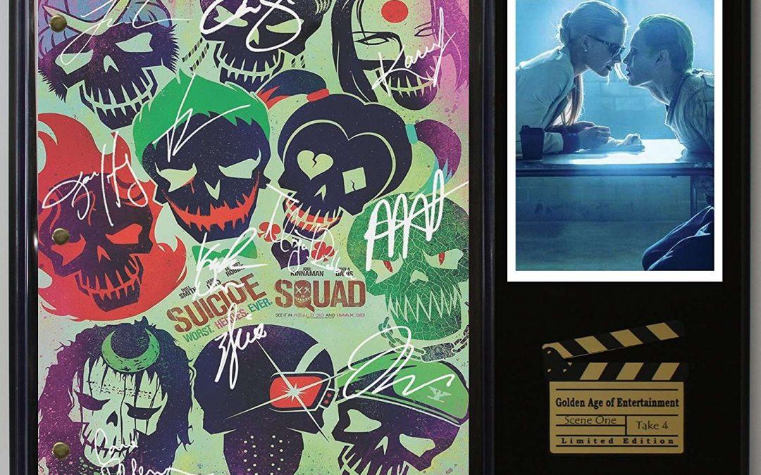 Suicide Squad Ltd Edition Reproduction Movie Script Cinema Display C3