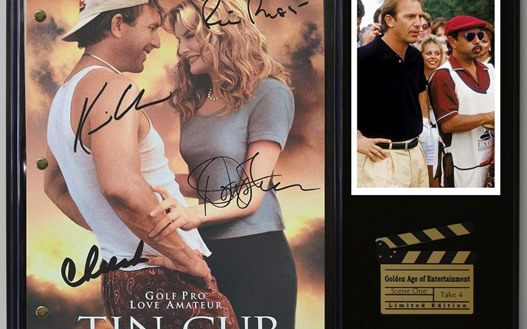 Tin Cup Ltd Edition Reproduction Movie Script Cinema Display C3