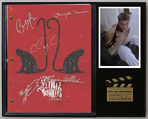 Twelve Monkeys Ltd Edition Reproduction Movie Script Cinema Display C3