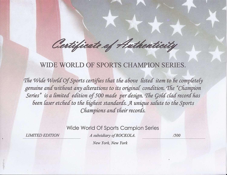 3c108b1c5 Tim Tebow Denver Broncos Nfl Champion Wide World Of Sports Stat ...