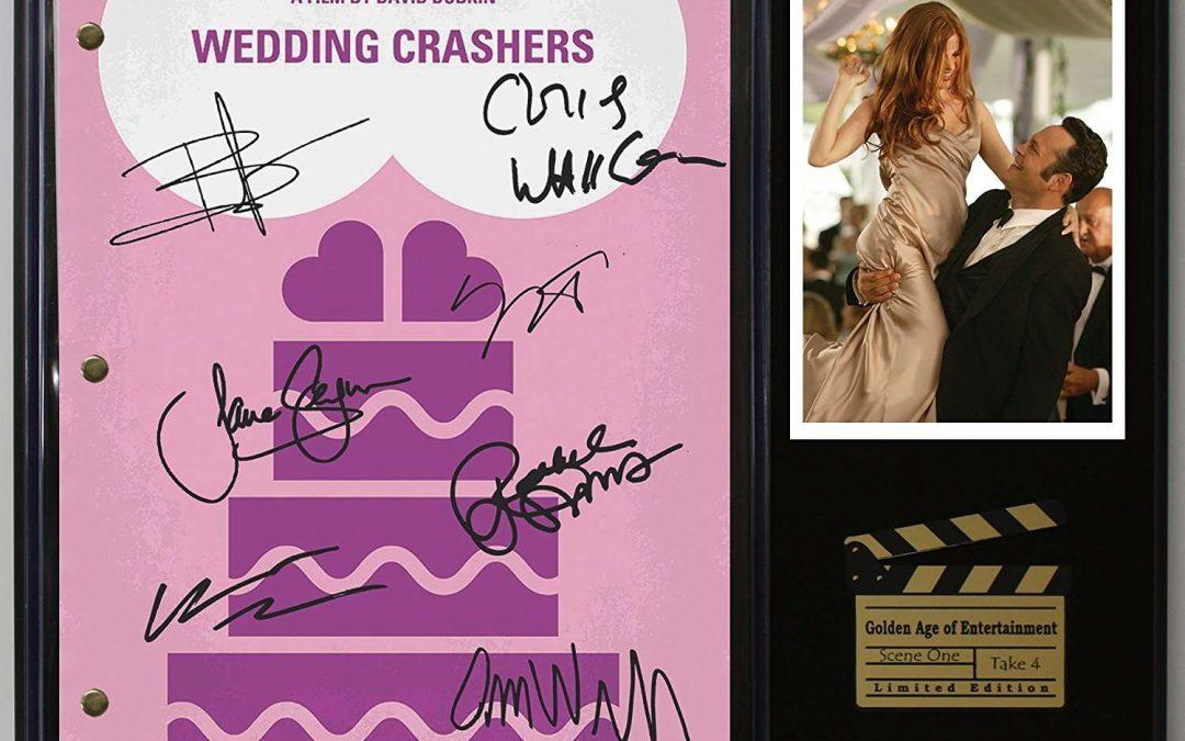 Wedding Crashers Ltd Edition Reproduction Movie Script Cinema Display C3
